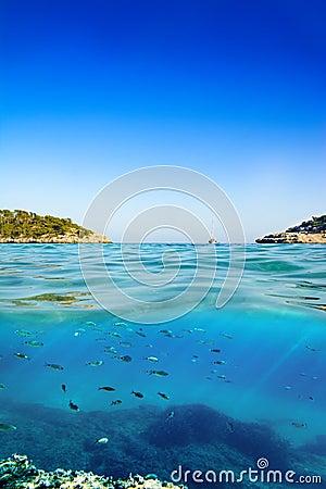 Free Mallorca Beach S`Amarador Royalty Free Stock Photo - 90112495