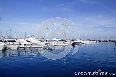 Mallorca Puerto Portals port harbor marina Spain