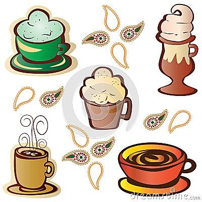 Malt Shop Icon Set