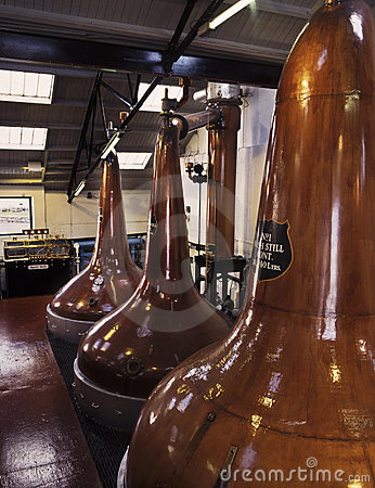Malt whisky stills