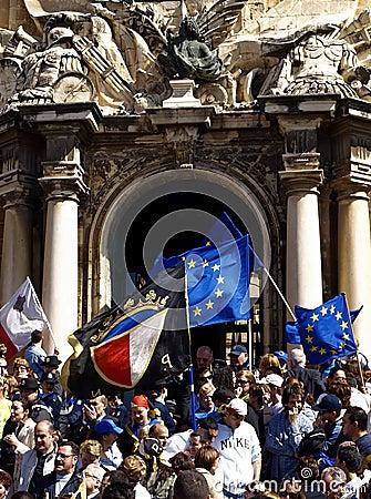 Malta Celebrates Editorial Stock Photo