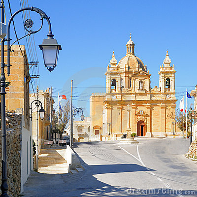 Malta, church in Haz-Zebbug