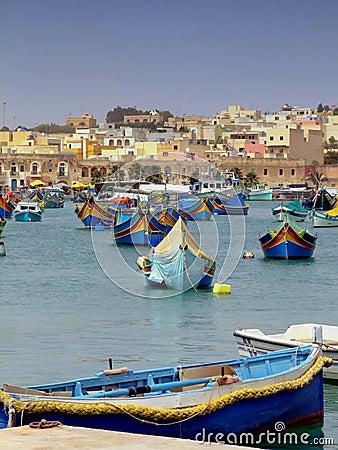 Free Malta Fishing Harbour Royalty Free Stock Photos - 2509288