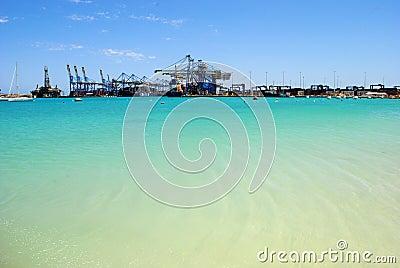 Malta Freeport, Birżebbuġa Redaktionell Foto