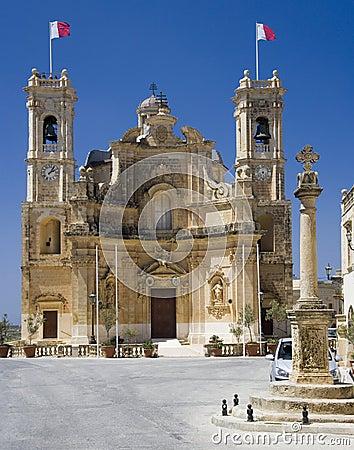 Malta - Gozo - Church in Gharb