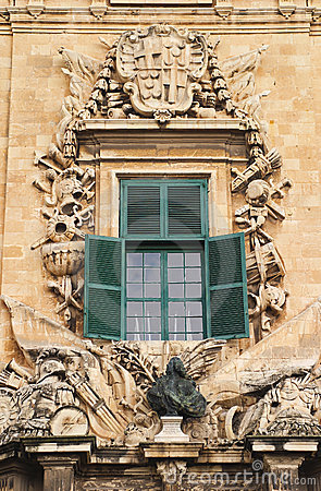 Malta La Valletta Facade