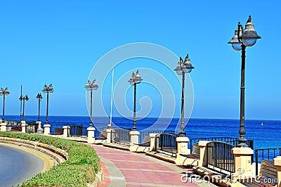 Malta seafront