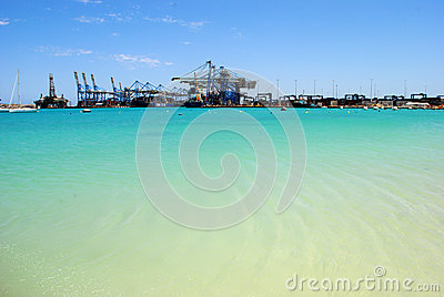 Malta wolny port, Birżebbuġa Obraz Editorial