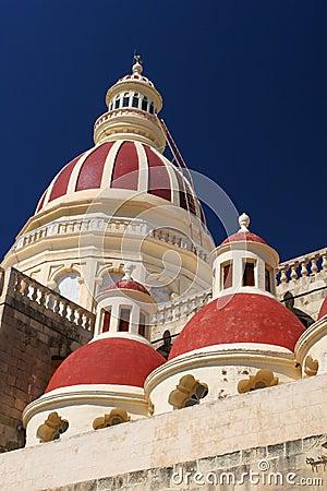 Free Maltese Church Royalty Free Stock Image - 1613196