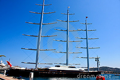 Maltese Falcon Clipper In Sardinia Editorial Photo