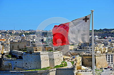 Maltese flag Editorial Photo