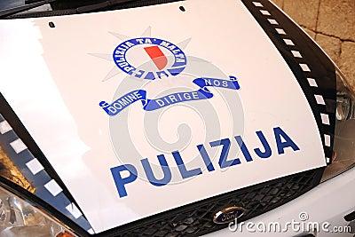 Malta police  pulizija  Editorial Photography