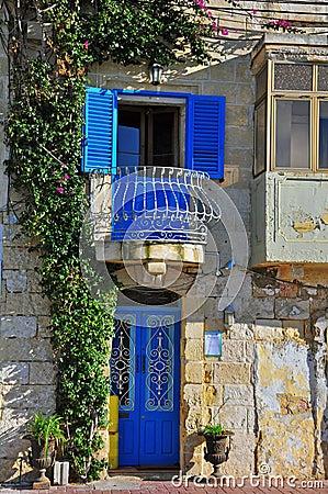 Maltese traditional house