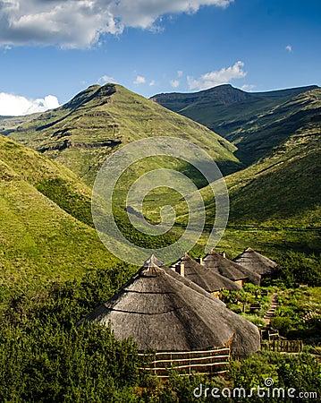 Maluti Mountains Rondavels