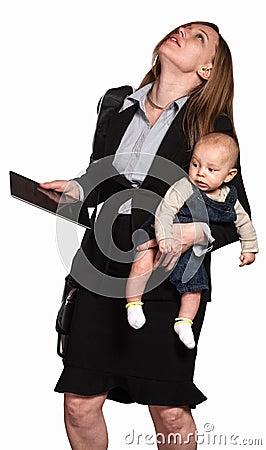 Mamã para fora de trabalho forçada