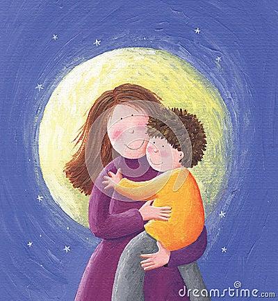 Mamã e criança