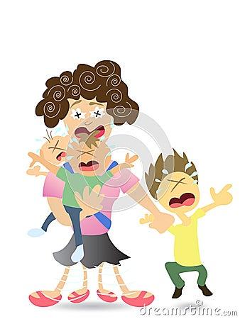 Mama stresująca się