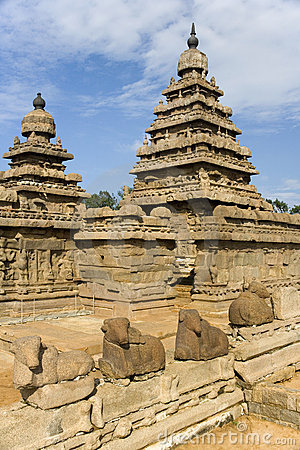 Mamallapuram Shore Temple - India