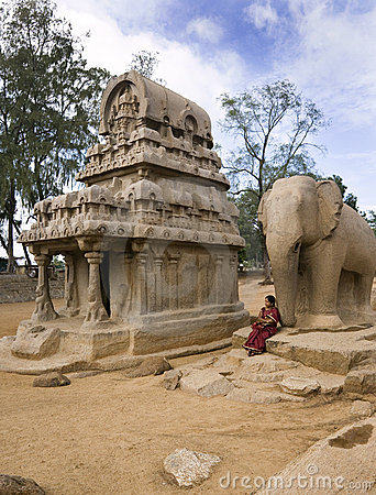 Mamallapuram - Tamil Nadu - India Editorial Photo