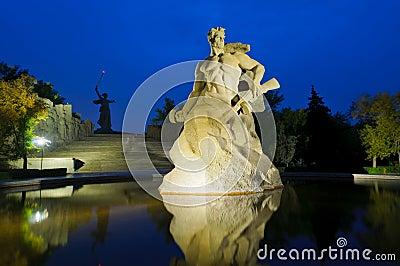 Mamayev monument, Volgograd, Russia