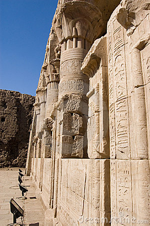 Mamissi, Temple of Horus, Edfu, Egypt