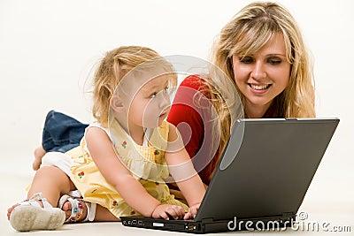 Mamy laptopa dziecka