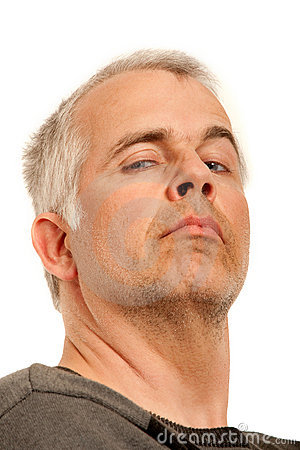 Man With Arrogant Expression Royalty Free Stock Photography - Image ...