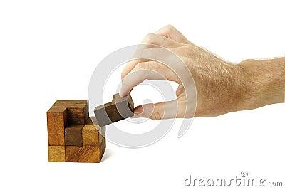 Wooden Cube Puzzle Plans