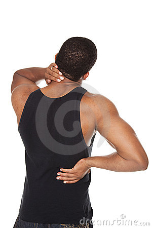 Man - back and neck pain