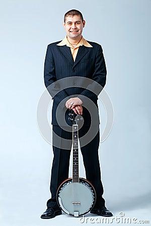 Man With Banjo.