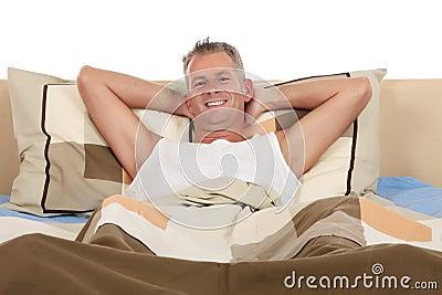 Man bedroom grooming