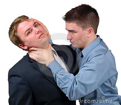 Man Being Put in a Trance