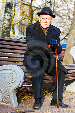 Man on a Bench