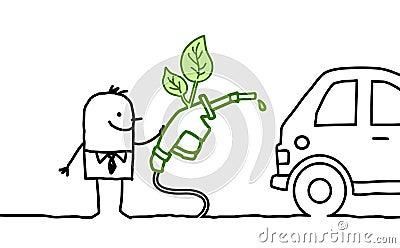 Man & biofuel