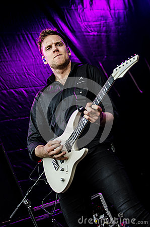 Man In Black Dress Shirt Playing Guitar Free Public Domain Cc0 Image