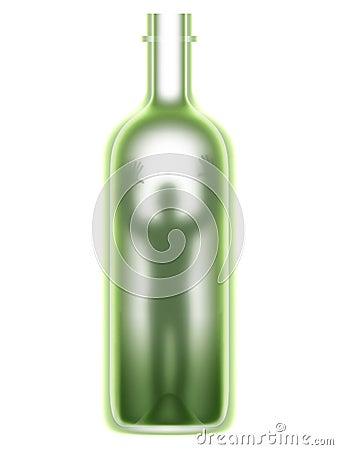 Man in a bottle