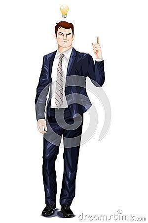 мужчина в костюме клипарт: