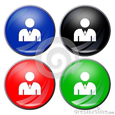 Man button