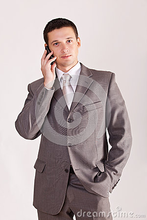 Man calling on phone