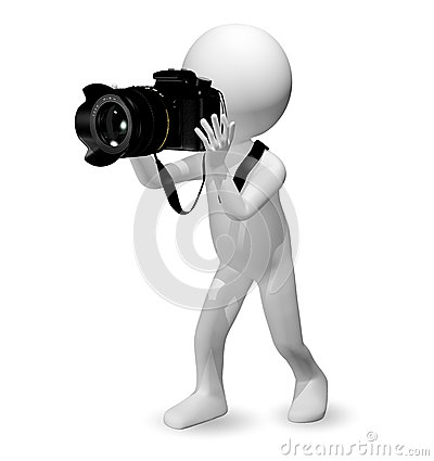 Man with a camera