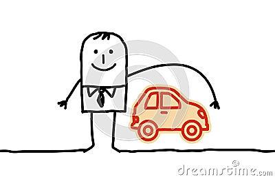 Man & car insurance