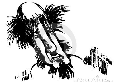 Man caricature