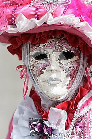 Man carnival mask
