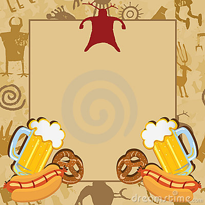 Free Man Cave Bachelor Party Invitation Royalty Free Stock Photo - 23302575