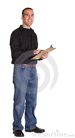 Man With Clipboard