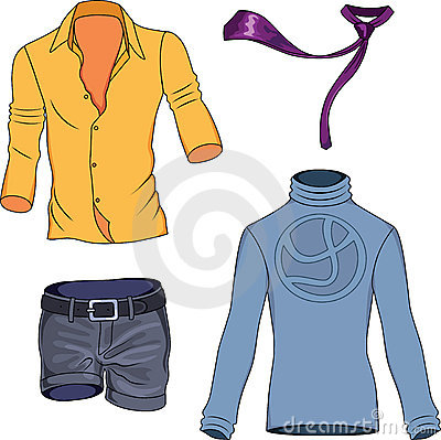 Man clothes collection