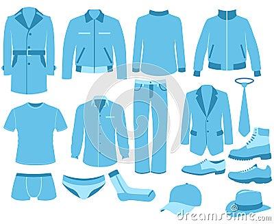 Man clothes set