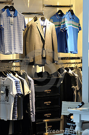 Man clothes showing