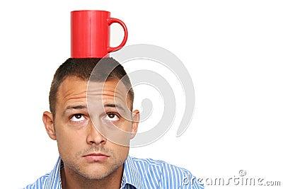 Man and Coffee Mug