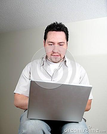 Man and computer-5